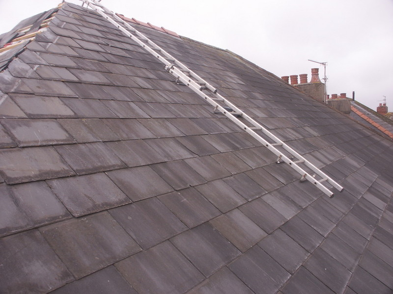 A Silcox Roofing Services Slate Roof